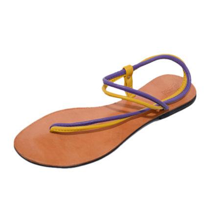Mi-Sling-Double-Strap—Purple-&-Yellow